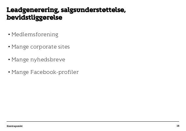 r T C MAXIMUM CONTENT WIDTH Kontrapunkt PowerPoint Template / Release date: 2014-11-20 •Medlemsforening •Mange corporate...