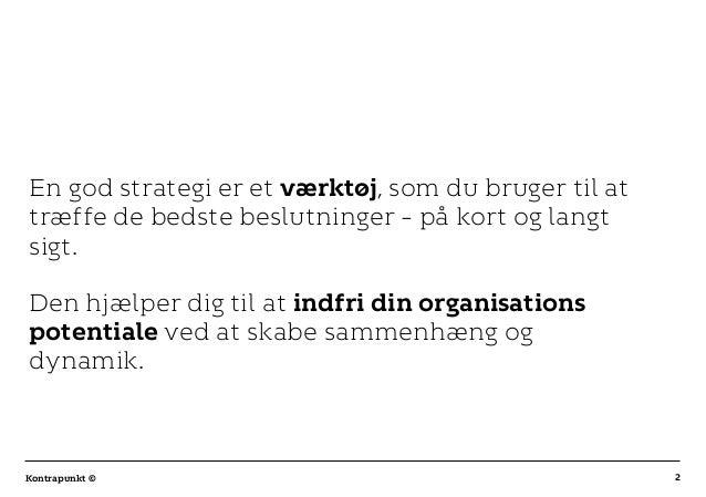 Sådan arbejder du med digital strategi Slide 2