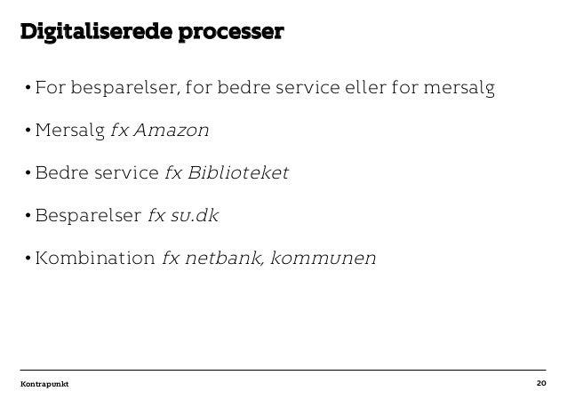 r T C MAXIMUM CONTENT WIDTH Kontrapunkt PowerPoint Template / Release date: 2014-11-20 •For besparelser, for bedre servic...