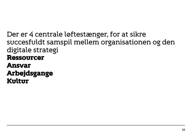 r T C MAXIMUM CONTENT WIDTH Kontrapunkt PowerPoint Template / Release date: 2014-11-20 Der er 4 centrale løftestænger, for...