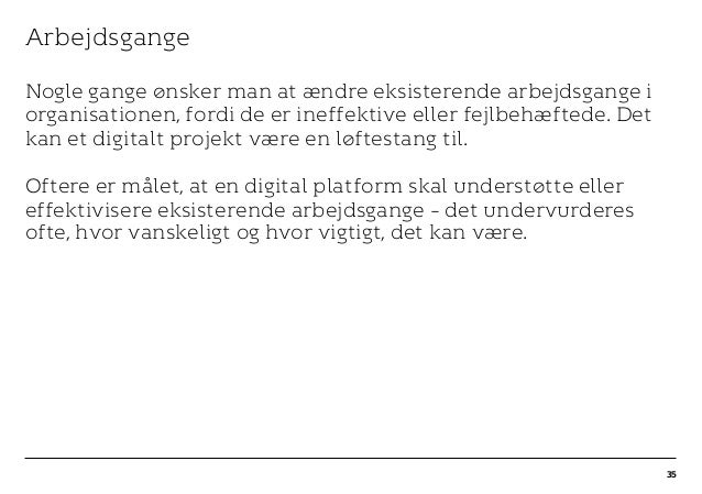 r T C MAXIMUM CONTENT WIDTH Kontrapunkt PowerPoint Template / Release date: 2014-11-20 Arbejdsgange Nogle gange ønsker man...