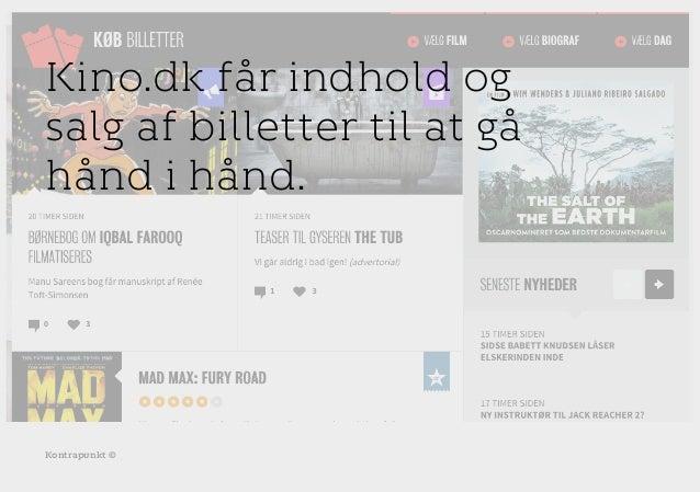 r T C MAXIMUM CONTENT WIDTH Kontrapunkt PowerPoint Template / Release date: 2014-11-20 Kontrapunkt © Kino.dk får indhold o...