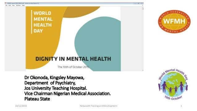 pdf dignity in mental health