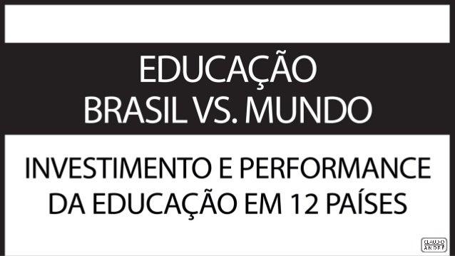 Educação Brasil VS Mundo