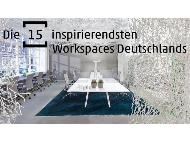 Die 15 inspirierendsten Workspaces Deutschlands