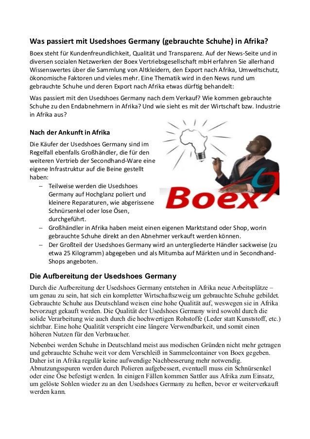 Was Passiert Mit Usedshoes Germanygebrauchte SchuheIn mnv08ONw