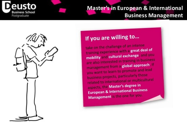 Official Master's Degree in European and International ...