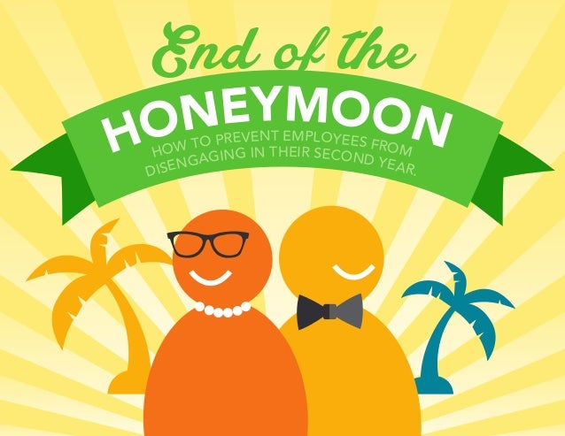 End of the HONEYMOON DISENGAGING IN THEIR SECOND YEAR. HOW TO PREVENT EMPLOYEES FROM