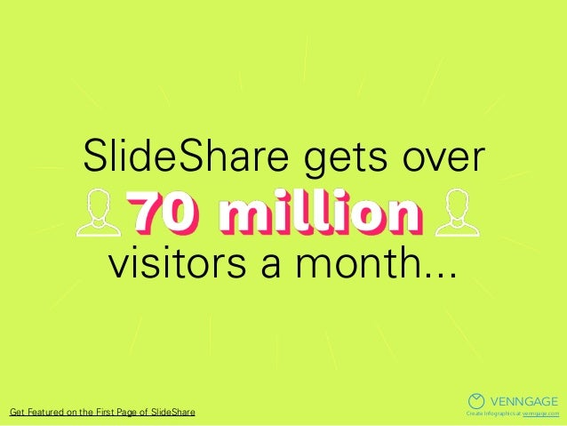 Get Featured: So You Want to be on the Front Page of SlideShare? Slide 2