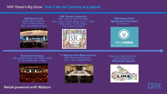 Explore the Internet of Things at NRF Big Show 2017