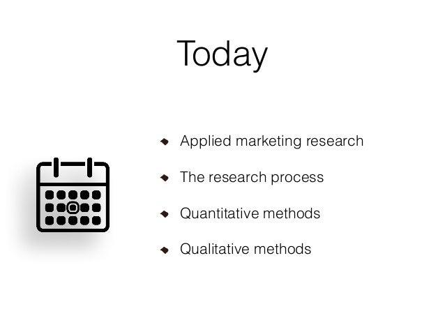 Marketing Research Methods Slide 3
