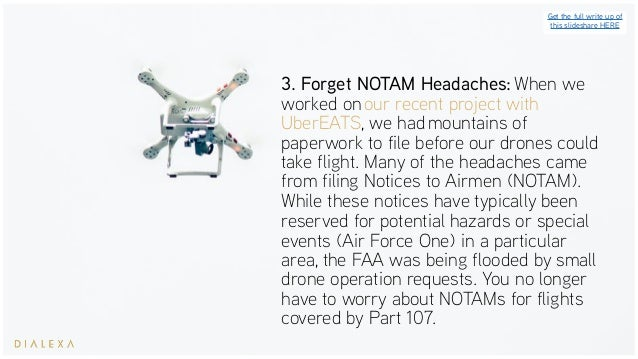 FAA Drone Regulations - Your Part 107 Cheat Sheet
