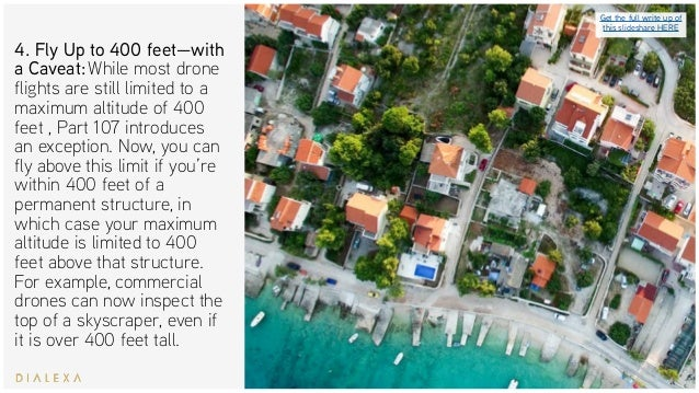 FAA Drone Regulations - Your Part 107 Cheat Sheet