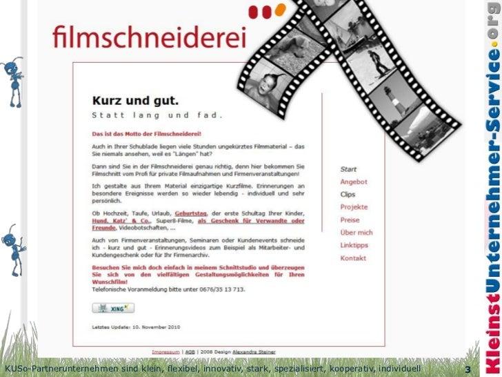Video schneiden in Wien   Filmschneiderei Slide 3