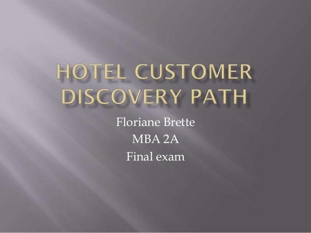 Floriane Brette   MBA 2A  Final exam