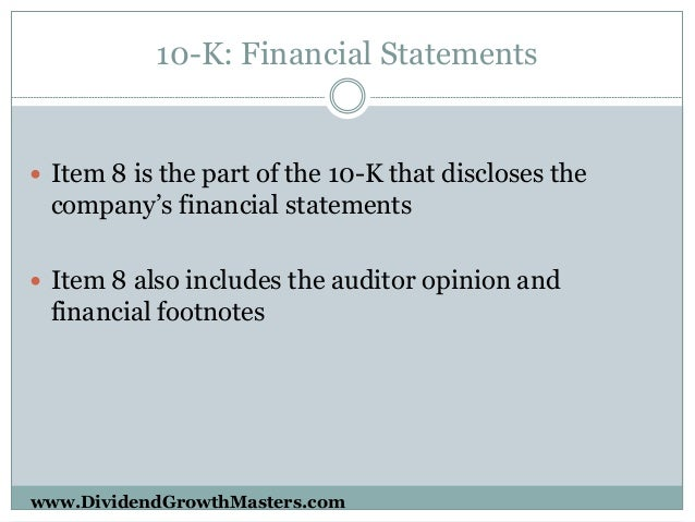 Guide to Understanding Financial Statements - The Balance