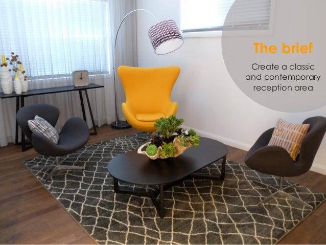 The Brief Create A Classic And Contemporary Reception Area ...