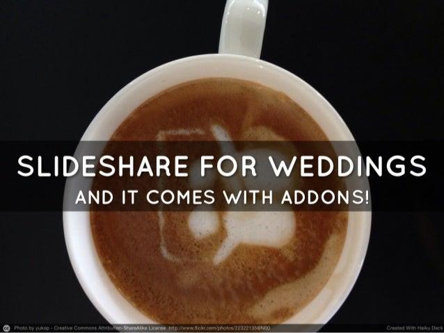 SlideShare for Weddings