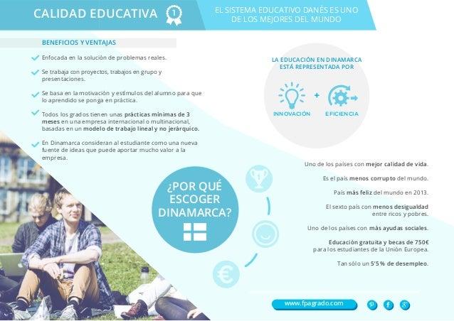 Dinamarca como destino para estudiantes Slide 2