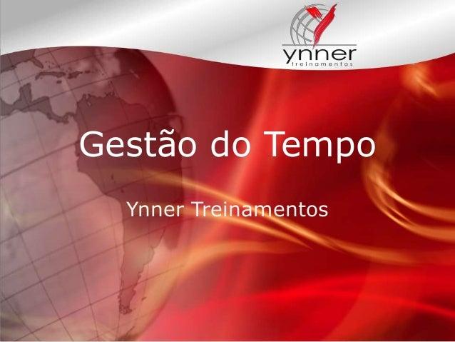 Gestão do Tempo Ynner Treinamentos