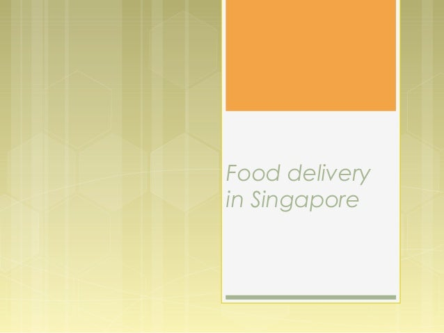 Food delivery in Singapore