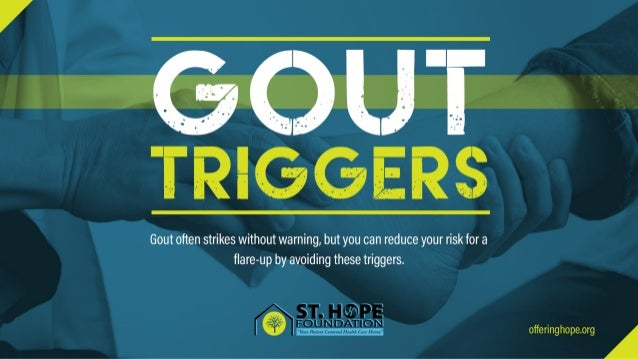 Gout Triggers to Avoid