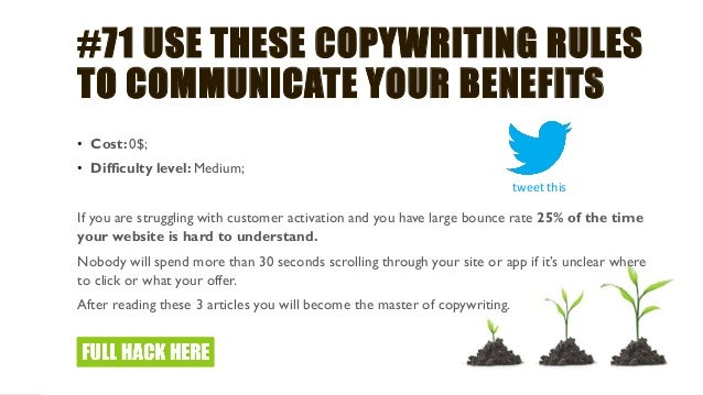 #76 CREATE A BETTER EMAIL MARKETING CAMPAIGNS • Cost: 0$; • Difficulty level: Medium; With 4 billion accounts worldwide an...