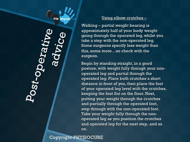 Hip Arthroscopy Rehabilitation Part One
