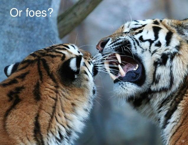 Or foes? 13