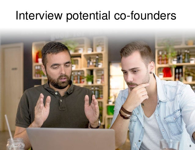 Interview potential co-founders 8