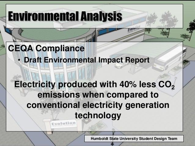 Humboldt State University Student Design Team Environmental Analysis CEQA Compliance • Draft Environmental Impact Report E...