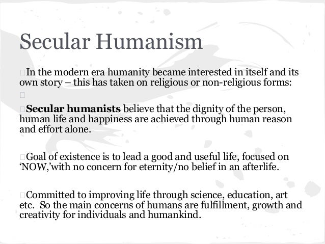secular vs religion world view For those who aren't as familiar with atheism and secular and many seek to impose their world-view on a few reasons why religion doesn't.