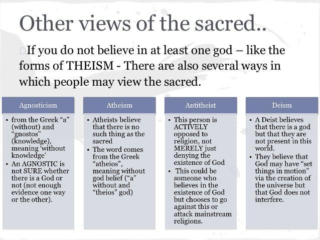 religious worldview example