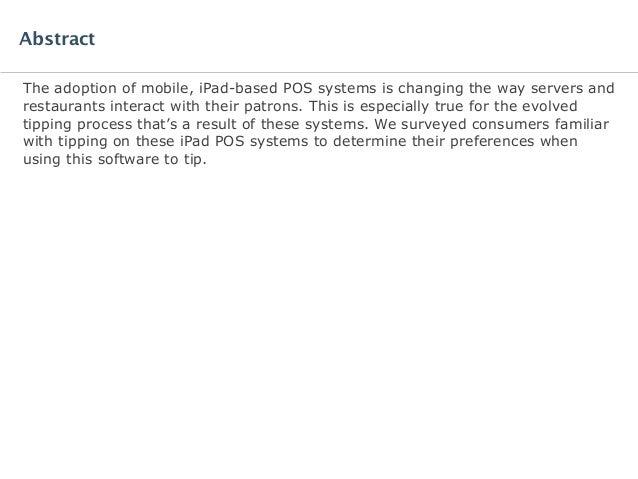 Software Advice IndustryView: iPad POS Report Slide 2
