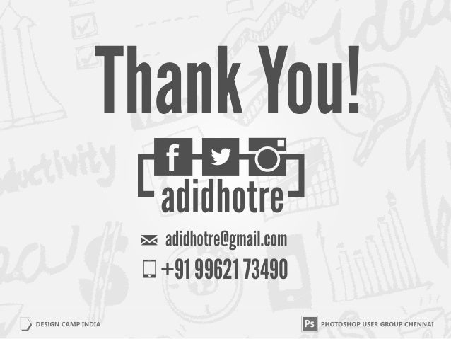 Thank You!  +91 99621 73490
