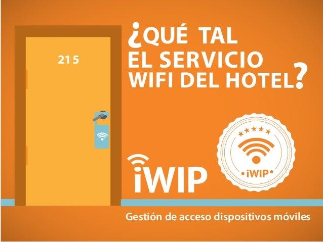 iWIP Gestión de acceso dispositivos móviles 215