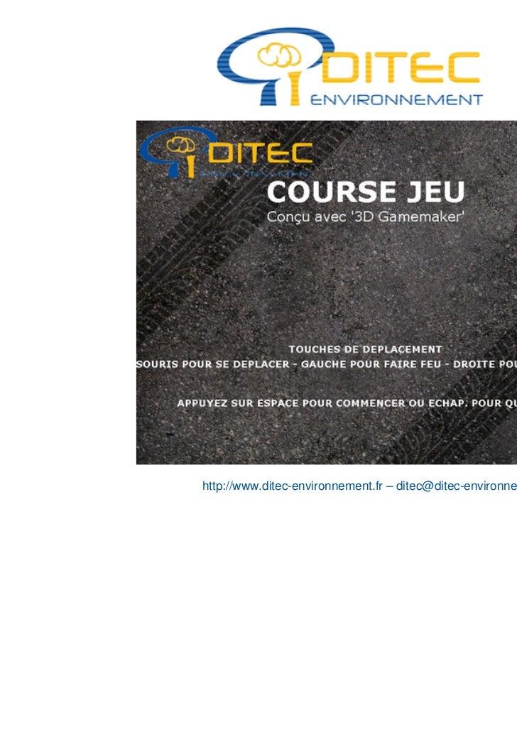 http://www.ditec-environnement.fr – ditec@ditec-environnement.fr