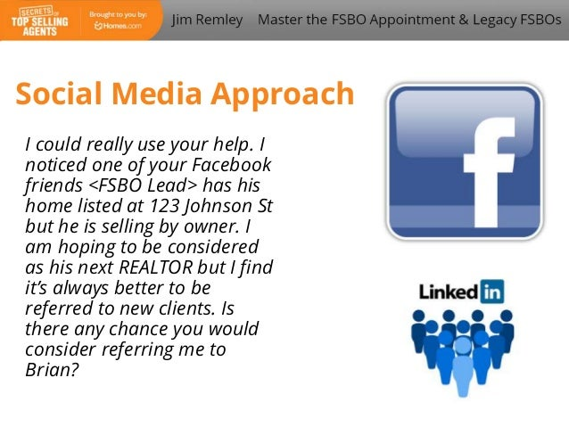 Master the FSBO Appointment & Legacy FSBO's with Jim Remley