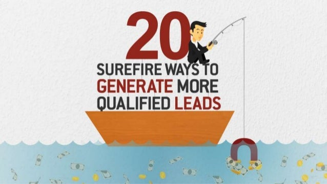 Image result for 20 ways to generate more leads images