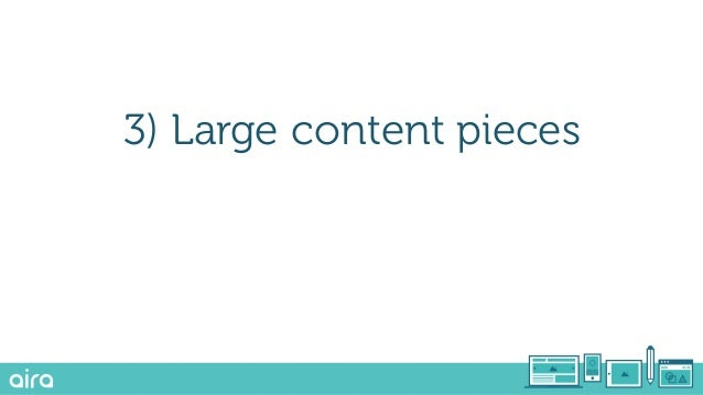 Together, these lead to a diverse and robust content strategy…