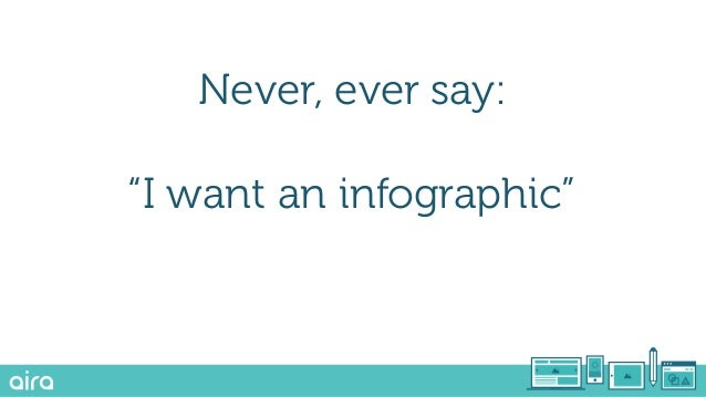 """Never, ever say: """"I want an interactive piece of content"""""""