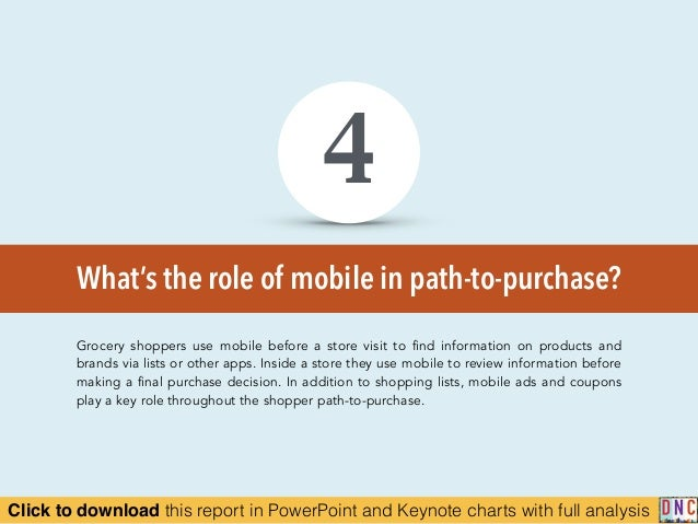 Click to download this report in PowerPoint and Keynote charts with full analysis What's the role of mobile in path-to-pur...