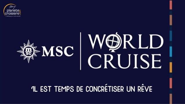 Le tour du monde en croisière avec MSC Croisières