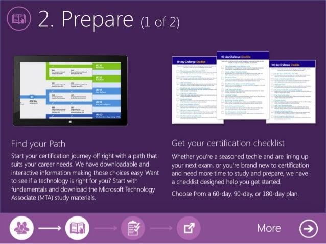 Take the Microsoft Certification Challenge