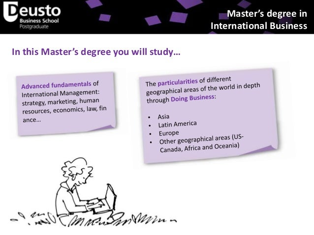 Official Master's Degree in International Business