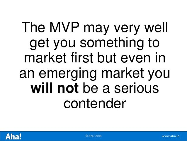 The Minimum Lovable Product (Forget the MVP) Slide 20