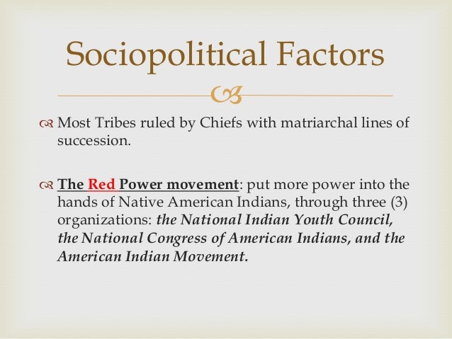 native american matriarchy