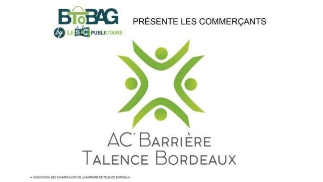 Album des Commerçants De la Barrière de Talence Bordeaux