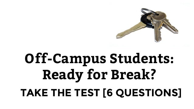 Break Safety for Off-Campus Students at Miami University