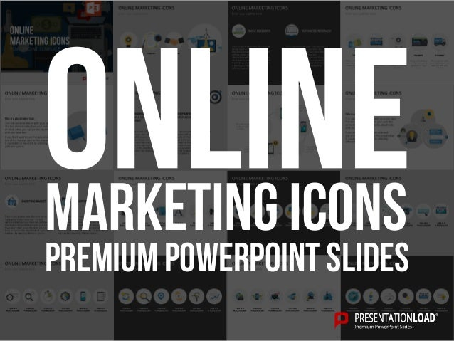 PREMIUM POWERPOINT SLIDES Marketing Icons